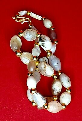 Bactrian agate beads necklace circa LATE 3RD-EARLY 2ND MILLENNIUM B.C