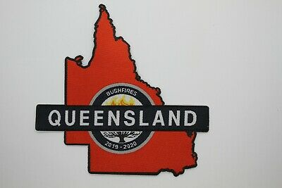 QLD Queensland Bushfires 2019 - 2020  Patch