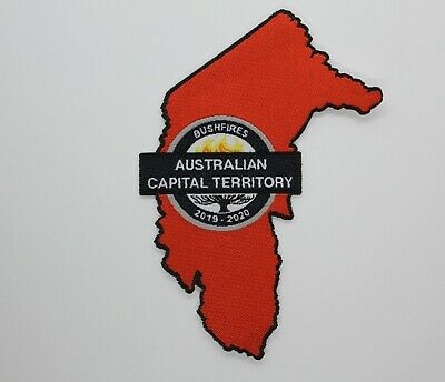 ACT Australia Capital Territory Bushfires 2019 - 2020  Patch