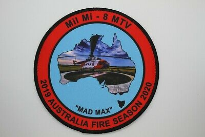Mil Mi - 8 MTV 2019 / 2020 Australia Fire Season Patch