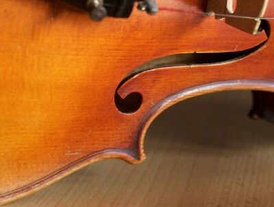 """Very old labelled Vintage violin """"Andrea Bisiach"""" 小提琴 скрипка ヴァイオリン Geige"""