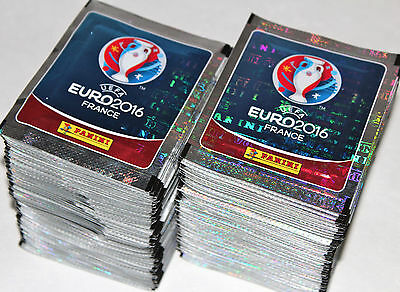 Panini UEFA EM EURO 2016 France - INTERNATIONAL EDITION 200 Tüten packets MINT!