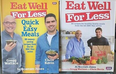 Eat Well For Less - Quick, Easy, Healthy Family Meals - 2 Books - Free Postage