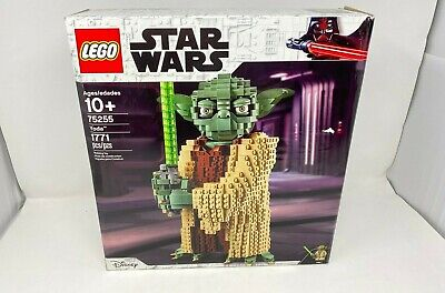 Lego Star Wars Yoda Building Toy Set 1771pcs 75255 -FREE SHIPPING- N/OPEN BOX