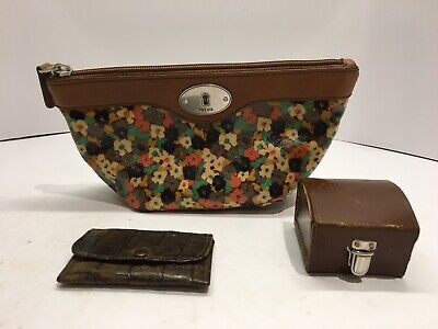 lot of vintage purses and lens case