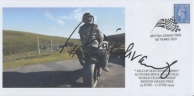 Mick Grant Hand Signed Isle of Man TT - First Day Cover.