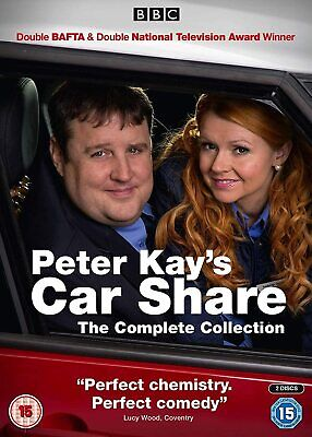 Peter Kay's Car Share - The Complete Collection [DVD]. Boxset Brand New + Sealed