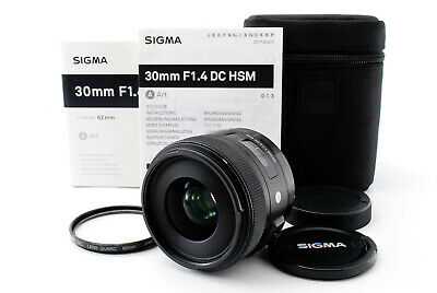 [EXCELLENT++++] Sigma 30mm f/1.4 Art DC HSM Lens for Canon From Japan