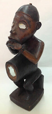 old Kongo Fetish Figure 9 inch old Germany collection
