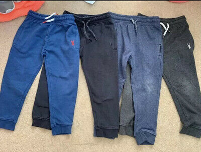 Boys Next Joggers Age 4 Bundle 4 Pairs