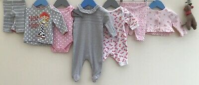Baby Girls Bundle 0-3 Debenhams Disney George Miniclub TU Mamas&Papas <H8156