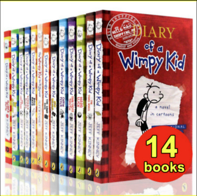 (Digital,2015)Diary Of A Wimpy Kid Collection 🔥 15 Books 🔥 Set By Jeff Kinney