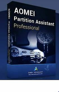 AOMEI Partition Assistant Technician 8.5 ,✔️ License Key Product Code