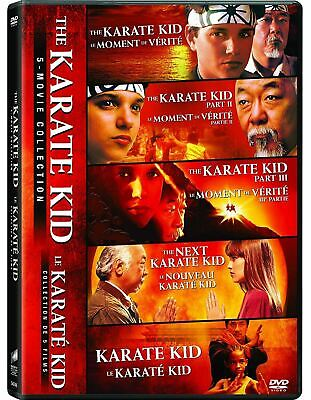 The Karate Kid 5-Movie Collection [DVD Box Set, Jackie Chan, Jaden Smith] NEW