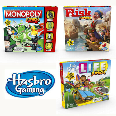 Range of Junior Board Games by Hasbro Gaming for Kids - New & Sealed
