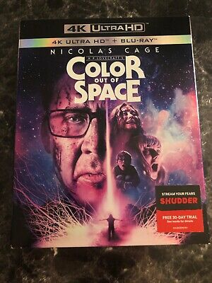 Color out of Space (4K ULTRA HD+Blu-ray, 2020)