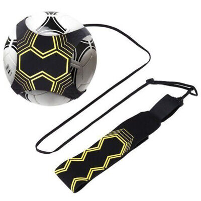 Soccer Football Kick Throw Trainer Solo Practice Training Aid Control Skills HOT