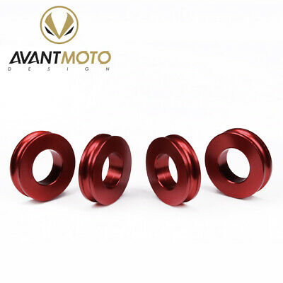Brake Caliper Spacers Ducati 1199 Panigale / Panigale R Panigale S 2013> Red