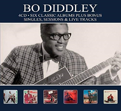Diddley, Bo-6 Classic Albums Plus Cd New