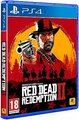 Ps4 Red Dead Redemption 2 Ii  Playstation 4