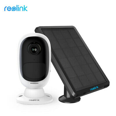 1080P WiFi IP Indoor Outdoor Home Security Camera Reolink Argus 2 + Solar Panel