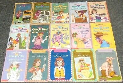 Junie B. Jones by Barbara Park LOT OF 15 Children's Softcover Chapter Books