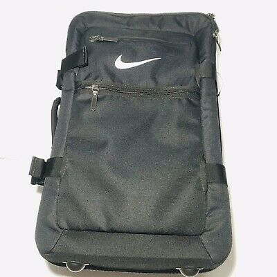 Nike Fiftyone49 Cabin Roller Cordura Travel Carry-on Suitcase PBZ277-001 Black