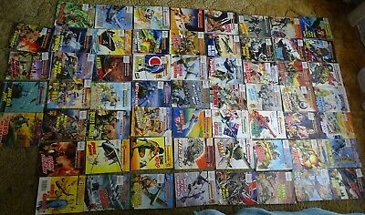 Commando War Comics X 60  Look Close Most 50 Years Editions (Skinny Les Pages )