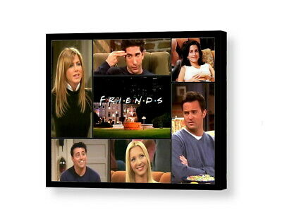 FRIENDS tv show Framed 8.5 X 11 collage display