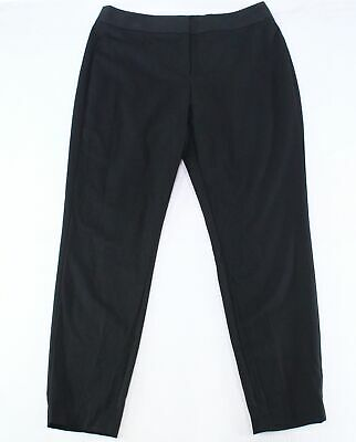 City Chic Womens Pants Black Size 16 Plus Skinny Pull On Solid Stretch $79 126