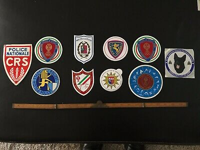 Rare Collection of International Police Canine/ Olympic Decals