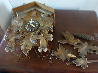 black forest cuckoo clock for spares and repairs