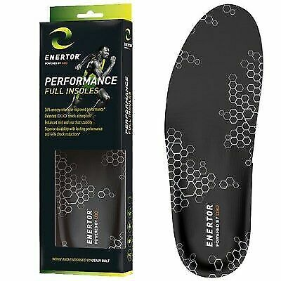 D3O Shock Absorption Protection All Sizes ENERTOR Comfort Full Length Insoles