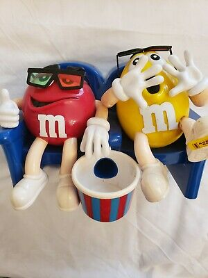 Assorted M&M Dispensers - Lot Of 4