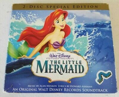Walt Disney The Little Mermaid Movie Soundtrack CD