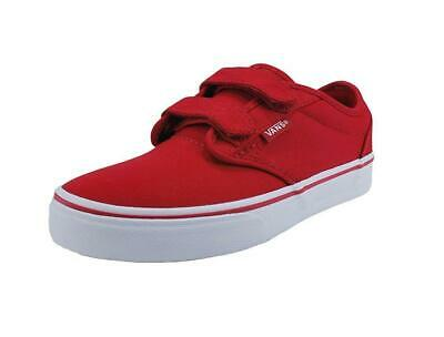 Vans Big Kids Children Youths Girls Boys Shoes Atwood V Strap Red White