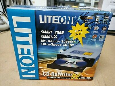 Brand New, Old Stock - Liteon 52x IDE CD-Rewriter-  In original Box