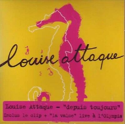 LOUISE ATTAQUEDepuis toujours 3-Track CARDSLEEVECD SINGLEAtm2006FranceNeuf