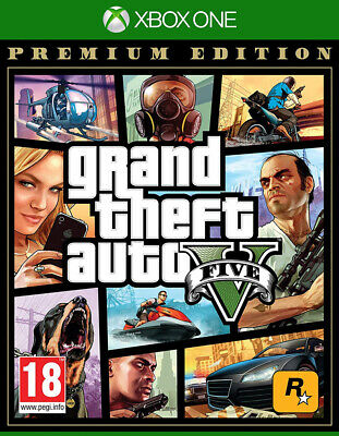 Grand Theft Auto V - Premium Edition (Xbox One)  BRAND NEW AND SEALED - IN STOCK