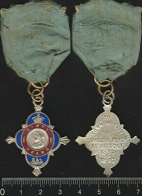 Great Britain: 1897 Queen Victoria Diamond Jubilee medal 60 Years of Reign