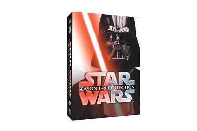Star Wars Saga Movie Episodes Season 1-9 Complete Collection 1-8+9 New USA sell!