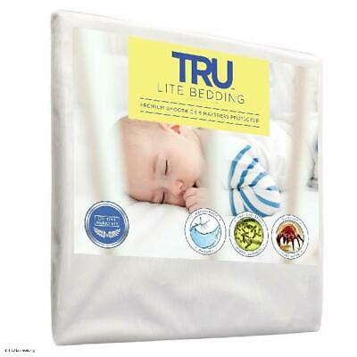 Crib Size - Mattress / Bed Cover - Premium Smooth Mattress Protector, Waterproof