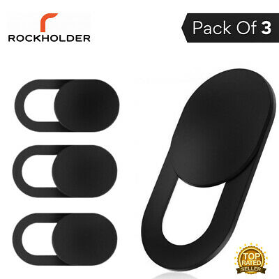 Adhesive Webcam Cover 3 PACK Thin 0.7mm Camera Laptop Mobile Tablet Macbook UK S