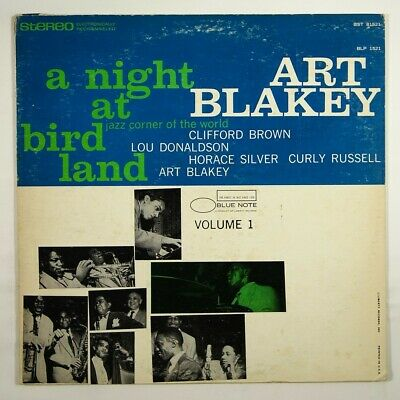 "Art Blakey Quintet ""A Night At Birdland Vol. 1"" Jazz LP Blue Note BST 81521"