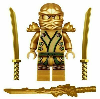 Ninjago Ninja Mini Figure Toy Lloyd Gold Ninja Fits Lego UK Stock Fast Shipping