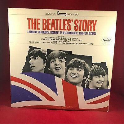 The Beatles The Beatles' Story 1971 Ee.uu. Vinilo LP Excelente Estado Apple