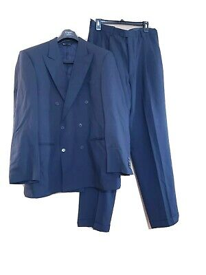 Pronto uomo Firenze  Mens 2 PC Suit  Jacket blazer 42 RE pants 36 RE made Italy