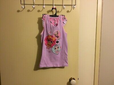 GIRLS LOL SINGLET & BRIEF SET SIZE 6/8 licensed. New!!