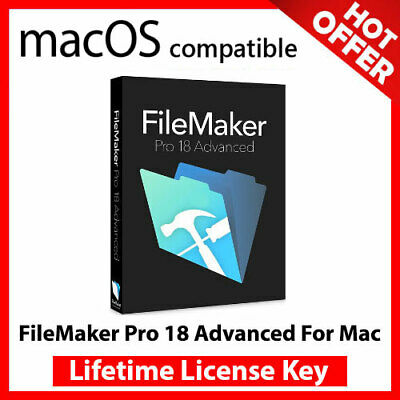 FileMaker Pro 18 Advanced For Mac 🔐 Lifetime Activation Key ✅ Fast Delivery