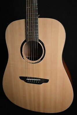 Luna Wabi D 6 String Solid Top Dreadnought Acoustic Guitar - Free Shipping!